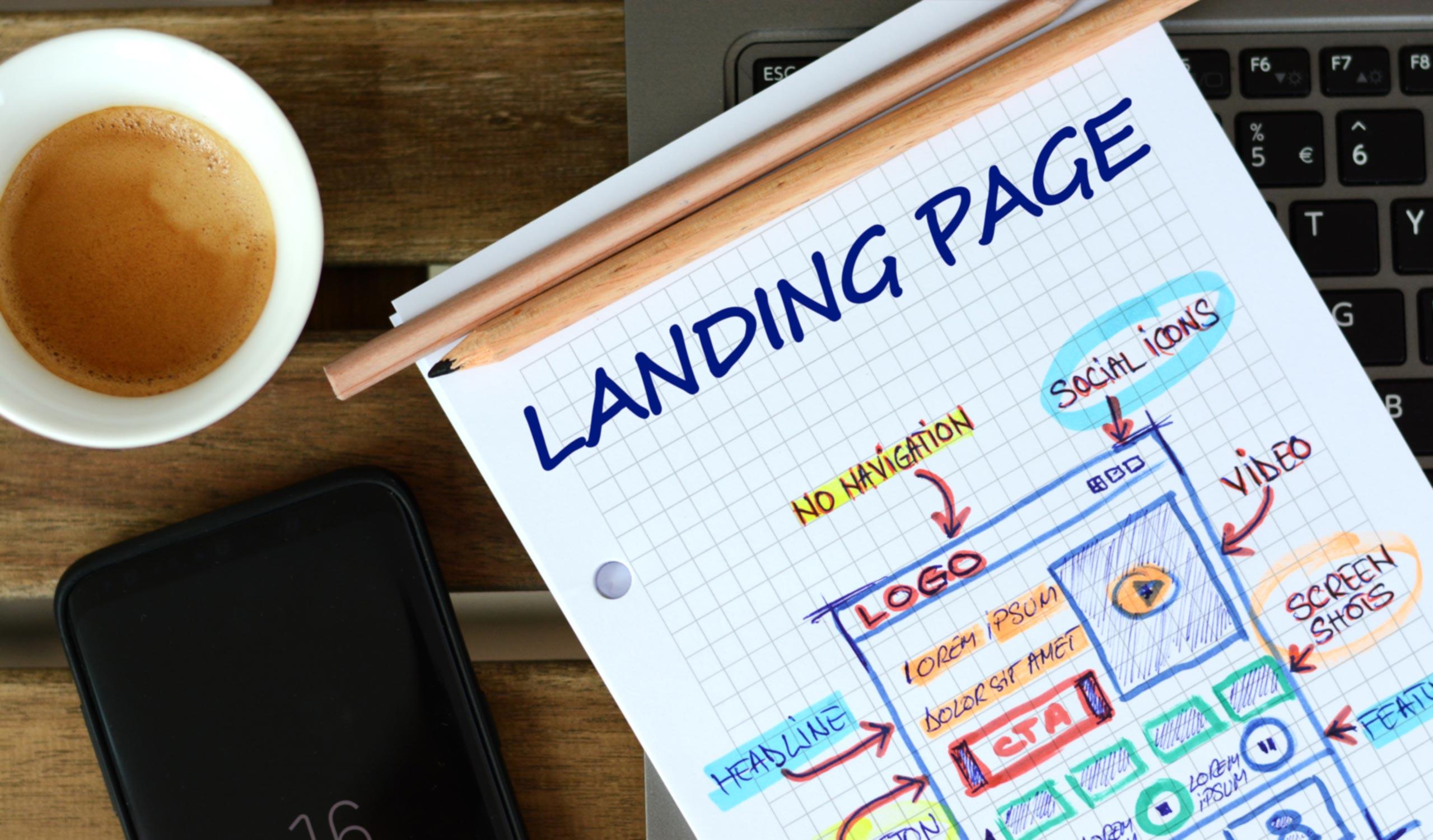10 Tips voor het maken van een optimale landingspagina